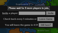 Wait for players to join